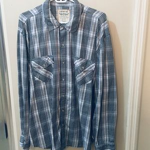 Levi's Cotton Long Sleeve Cotton Shirt